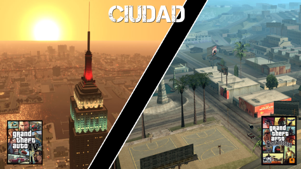 Grand Theft Auto IV VS Grand Theft Auto: San Andreas